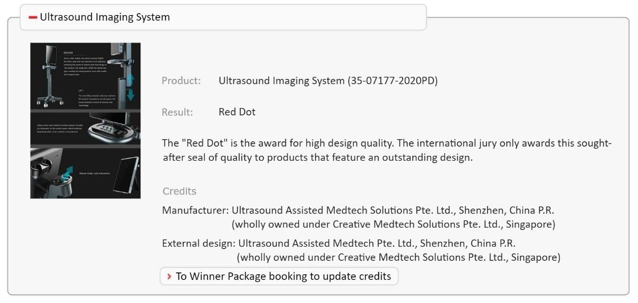 creative medtech solutions pte ltd, ultrast, ultrasound, prostate, uology ultrasound, biopsy